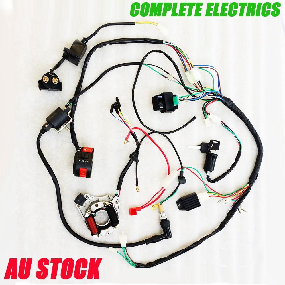 pit bike wiring harness kr 6142  125cc pit bike engine in addition chinese 110cc atv  125cc pit bike engine in addition