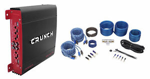 Amazing Crunch Px 1000 4 1000 Watt 4 Ch Powerful Car Audio Amplifier Amp Wiring Cloud Timewinrebemohammedshrineorg