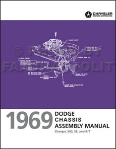 Groovy New 1969 Dodge Charger Chassis Assembly Manual Brakes Steering Wiring Cloud Uslyletkolfr09Org