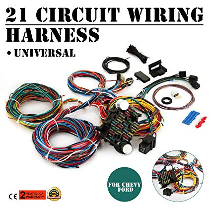 Outstanding Amazon Com Mophorn 21 Circuit Wiring Harness Kit Long Wires Wiring Wiring Cloud Uslyletkolfr09Org
