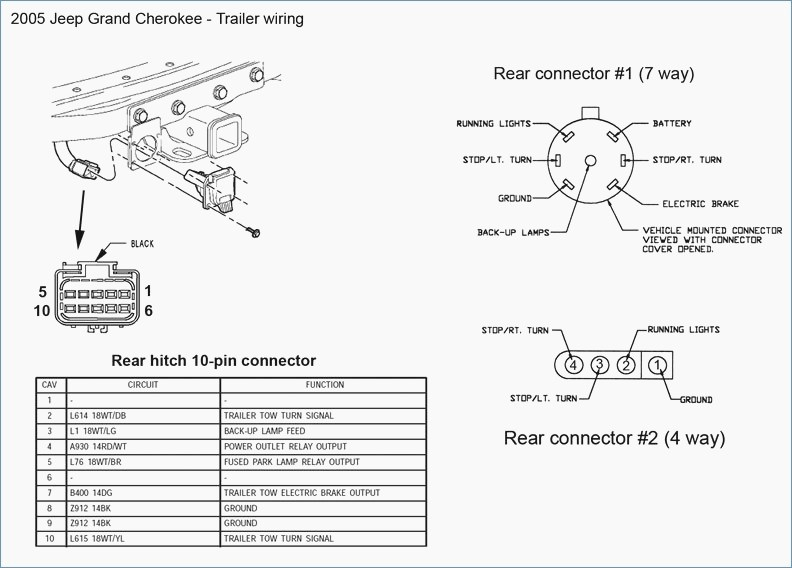 2007 jeep trailer wiring diagram  schematic wiring diagram
