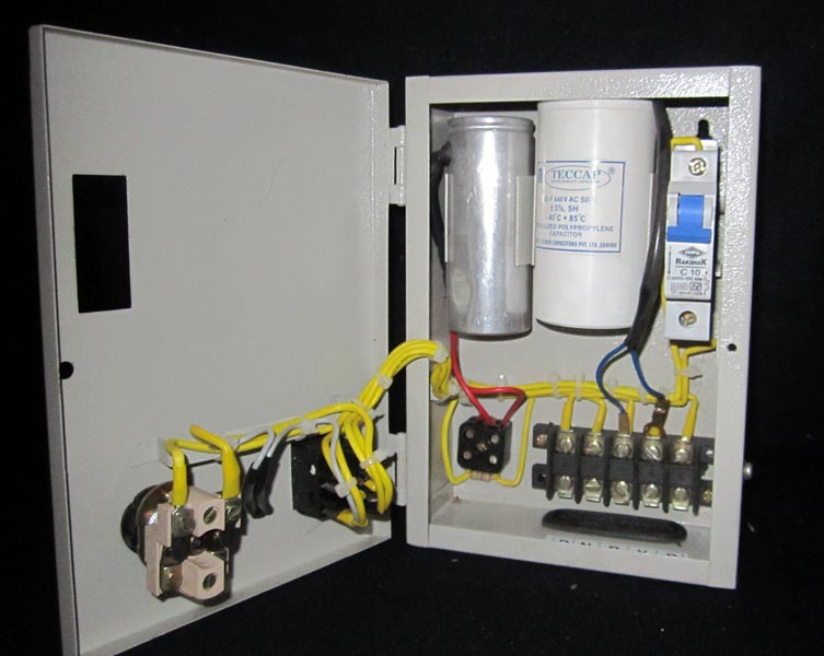 Submersible Pump Panel Board Wiring Diagram