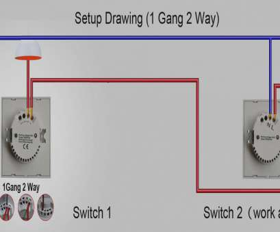 Gang 2 Way Dimmer Switch Wiring Diagram