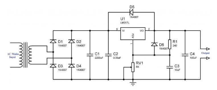 OD_2258] Power Supply Circuit With 5V 15A Design Output Powersupplycircuit Wiring  Diagram | Adjustable Power Supply Wiring Diagram |  | Unbe Hist Unbe Umize Hyedi Mohammedshrine Librar Wiring 101