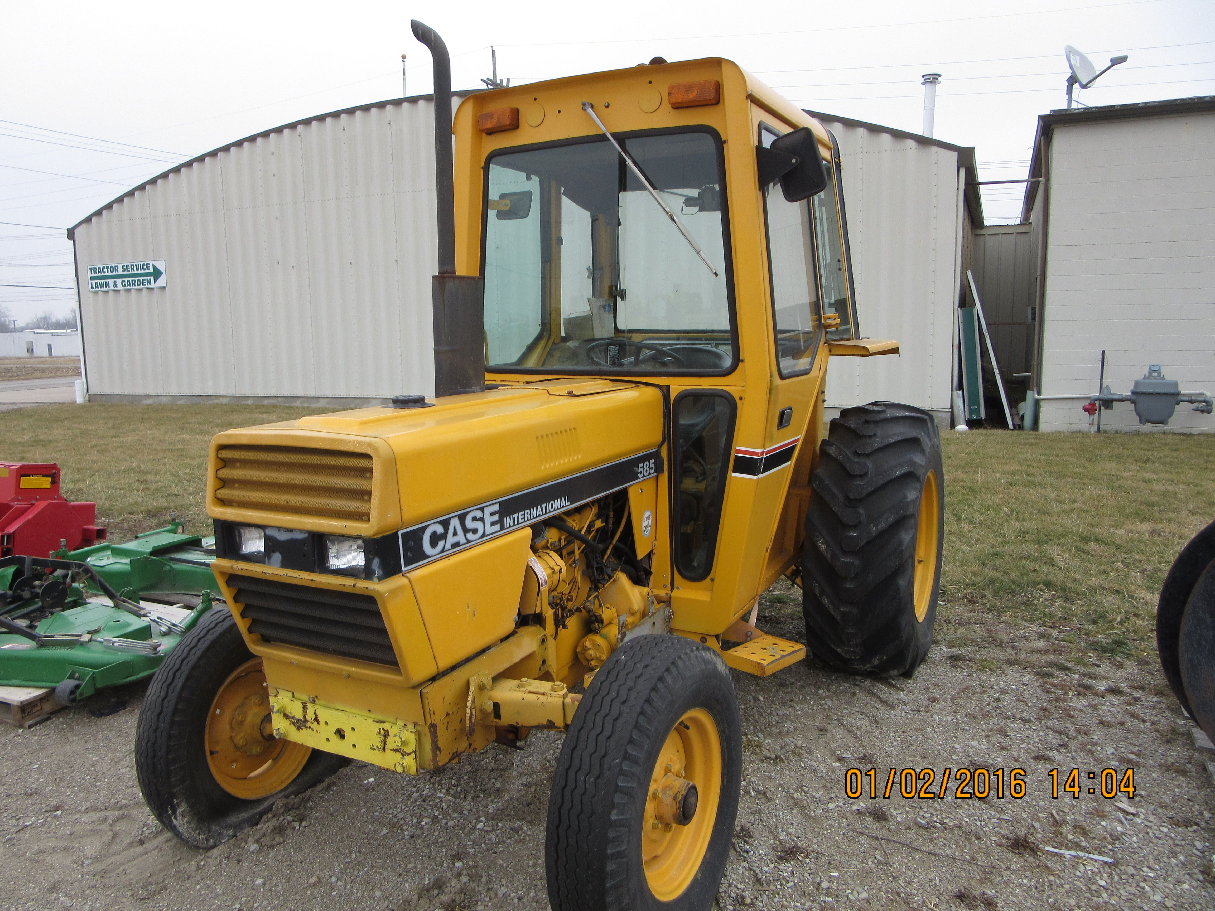 Admirable Yellow Case International 585 Cab Tractor Caseih Equipment Wiring Cloud Uslyletkolfr09Org