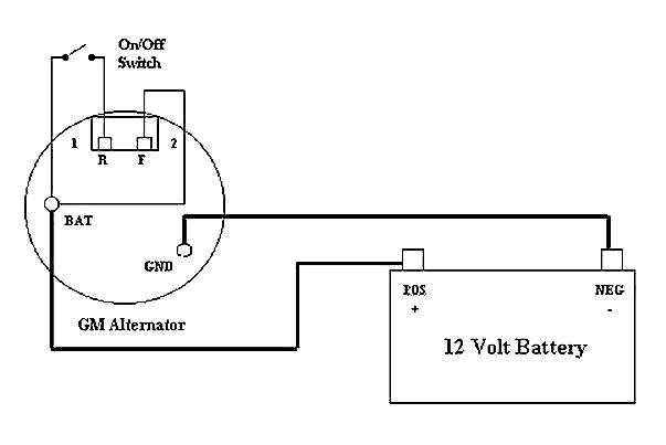[SCHEMATICS_48DE]  VH_4036] Single Wire Alternator Wiring Diagram As Well Chevy 3 Wire  Alternator Download Diagram | Chevy 3 Wire Alternator Wiring |  | Astic Aidew Illuminateatx Librar Wiring 101