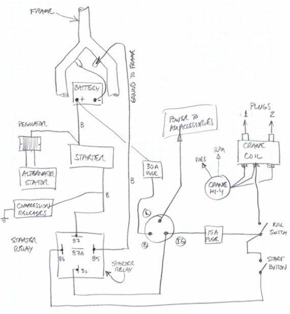 Wiring Diagram For 49cc Mini Chopper