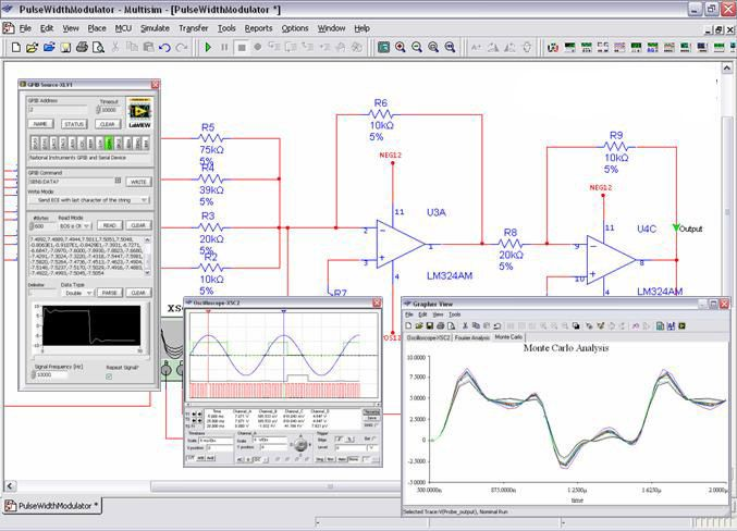 Wl 6215 Electronics Workbench Circuit Board Design And Simulation Software Wiring Diagram