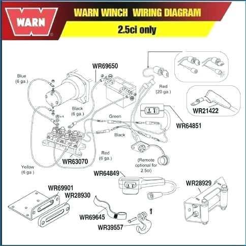 warn winch wiring diagram atv briggs fuel pump diagram