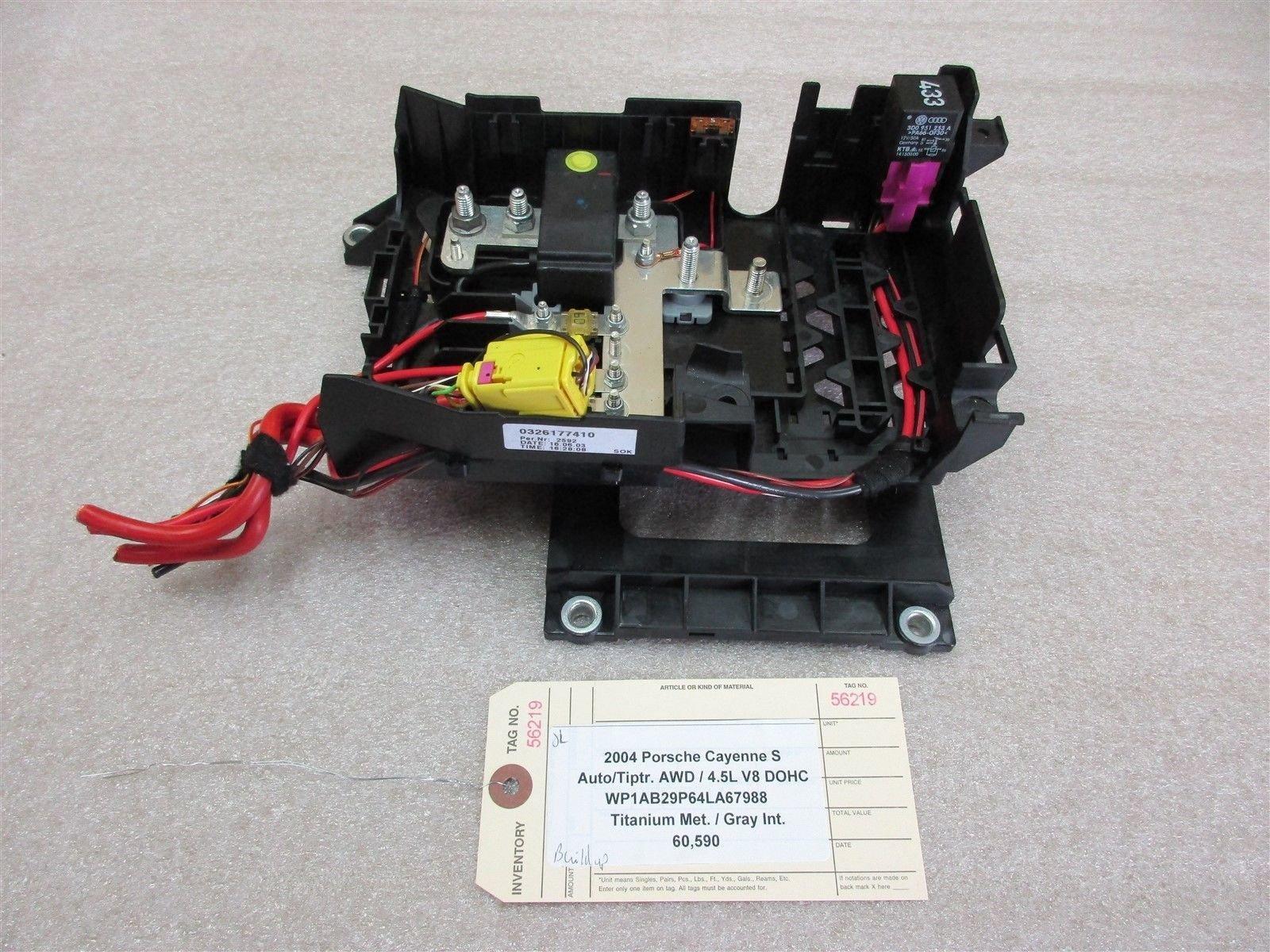 Vk 8480  Fuse Box Porsche Cayenne Wiring Diagram