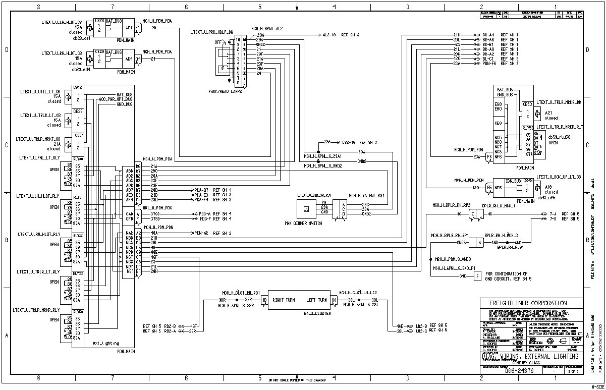 2001 Freightliner Wiring Schematic - faint.blog.seblock.deWiring Schematic Diagram and Worksheet Resources