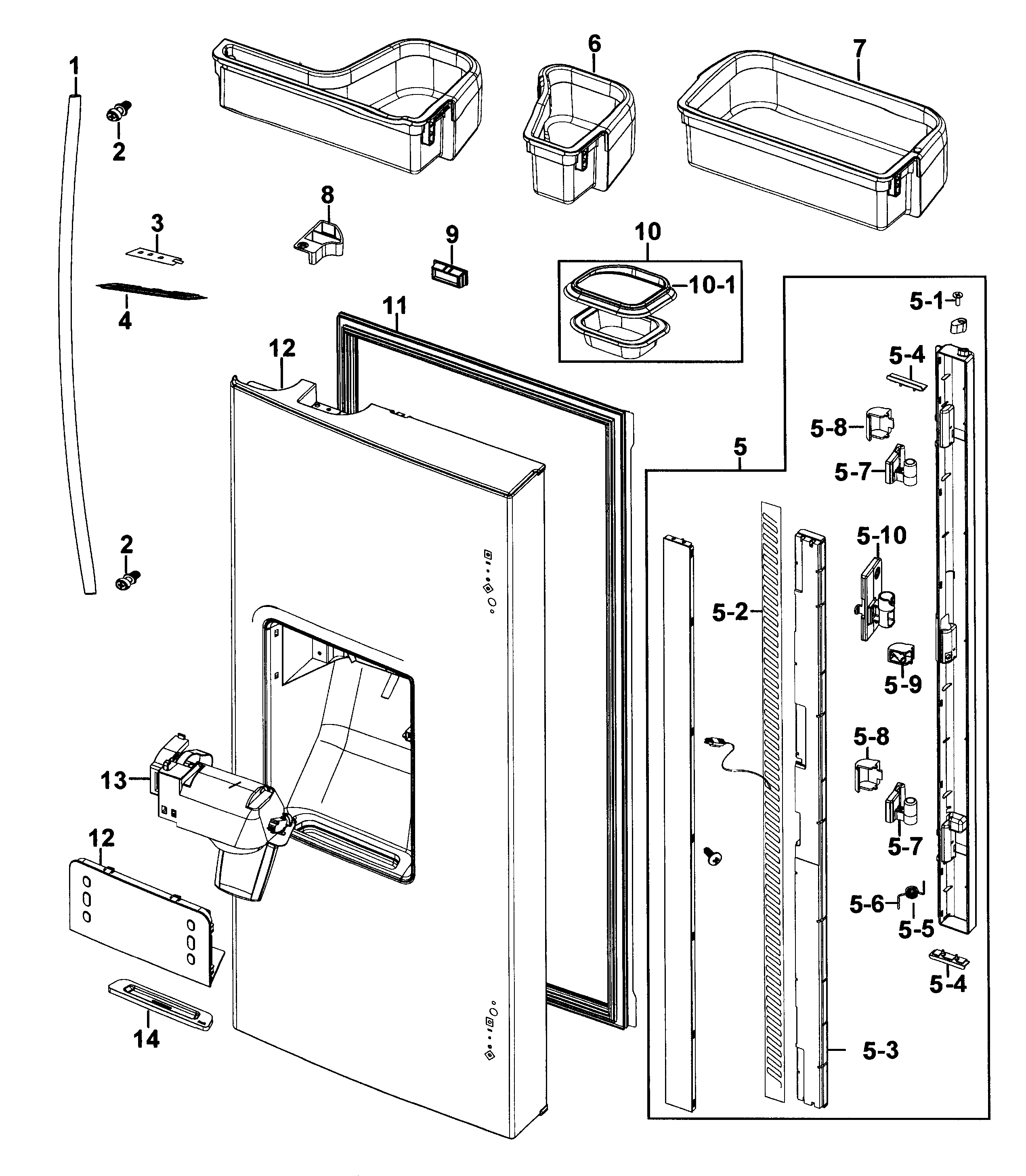 Samsung Double Door Refrigerator Circuit Diagram