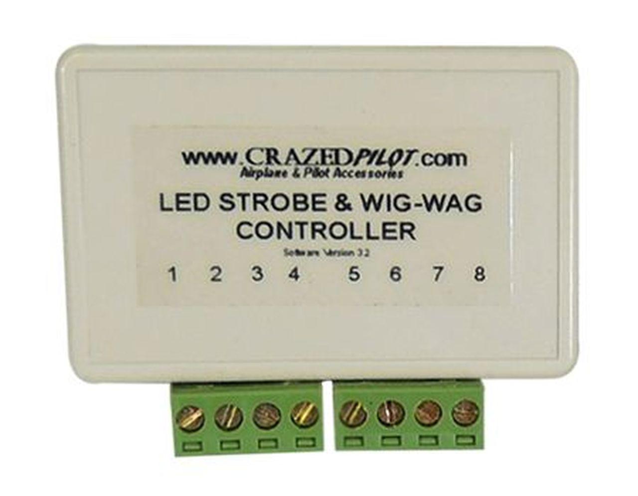 Prime Led Strobe Wig Wag And Landing Light Controller Crazedpilot Com Wiring Cloud Icalpermsplehendilmohammedshrineorg