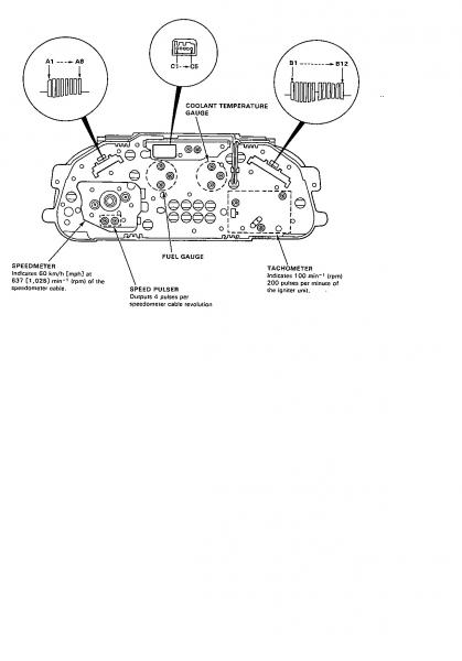 1990 civic cluster wiring diagram  wiring diagram for 1998