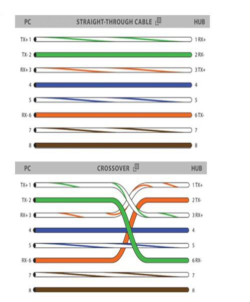 Fantastic Rj45 Colors And Wiring Guide Diagram Tia Eia 568A 568B Brothers Y Wiring Cloud Licukshollocom