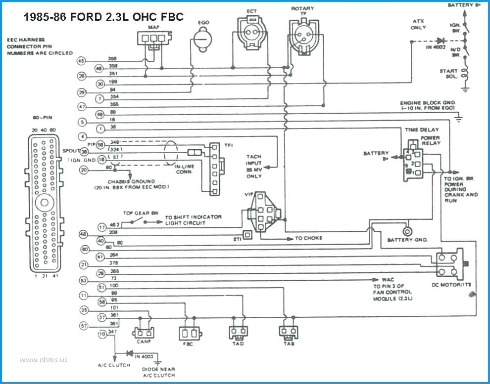 Radio Wiring Diagram For 1990 Mustang