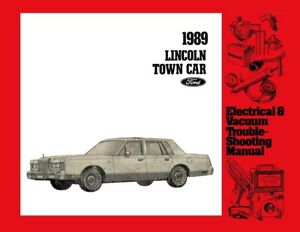 Outstanding 1989 Lincoln Town Car Electrical Vacuum Diagnostic Procedure Wiring Cloud Genionhyedimohammedshrineorg
