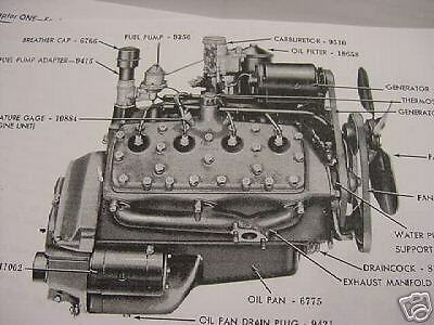 NA_1615] Ford Flathead V8 Diagram