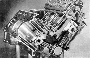 WA_2239] Ford V8 Engine Cutaway Diagram Schematic Wiring