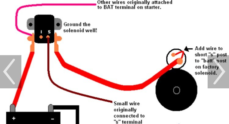 Er 0987 Ford Remote Solenoid Wiring Diagram Schematic Wiring