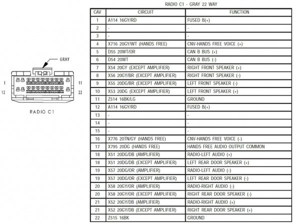 Kenwood Kdc X595 Wiring Diagram 2003