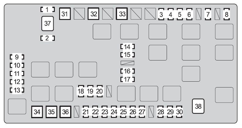 [DIAGRAM_1JK]  SR_3783] 2006 Toyota Land Cruiser Fuse Box Diagram Schematic Wiring | 2007 Toyota Fj Cruiser Fuse Box Diagram |  | Nect Dext Ation Eachi Rmine Shopa Mohammedshrine Librar Wiring 101