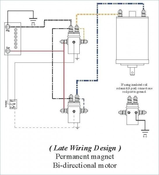 Permanent Magnet Winch Motor Wiring Diagram