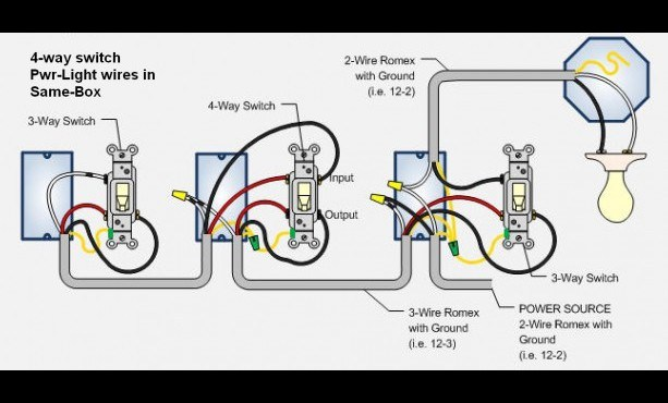cooper 4 way switch wiring diagram  1991 ford f 250 fuse
