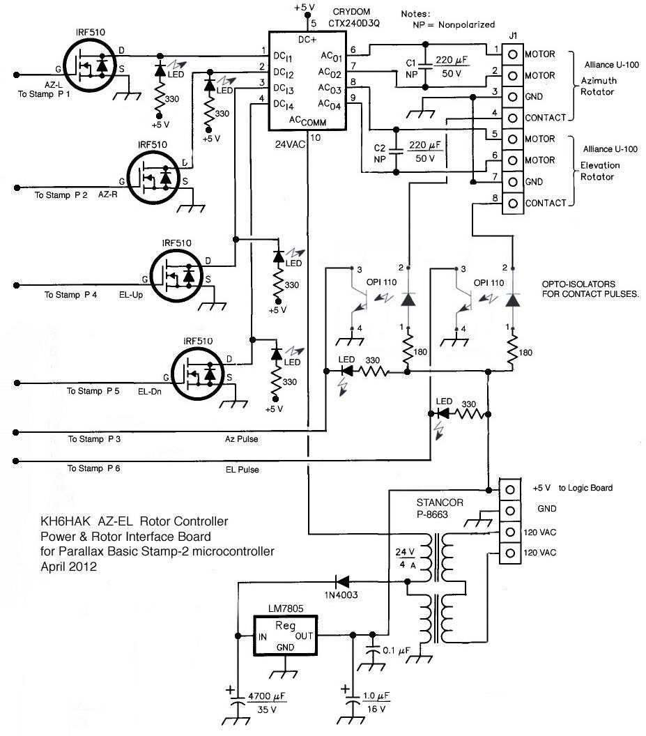 Cdr Rotor Control Wiring Diagram