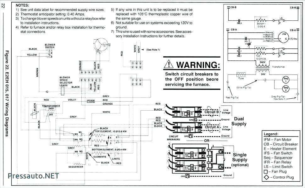 nordyne heat strip wiring diagram motorhome trailer wiring