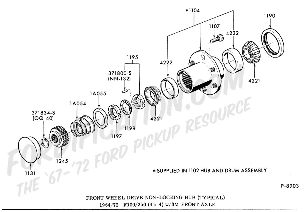 Al 6516 Wheel Hub Diagram Front Wheel Drive Nonlocking Free Diagram
