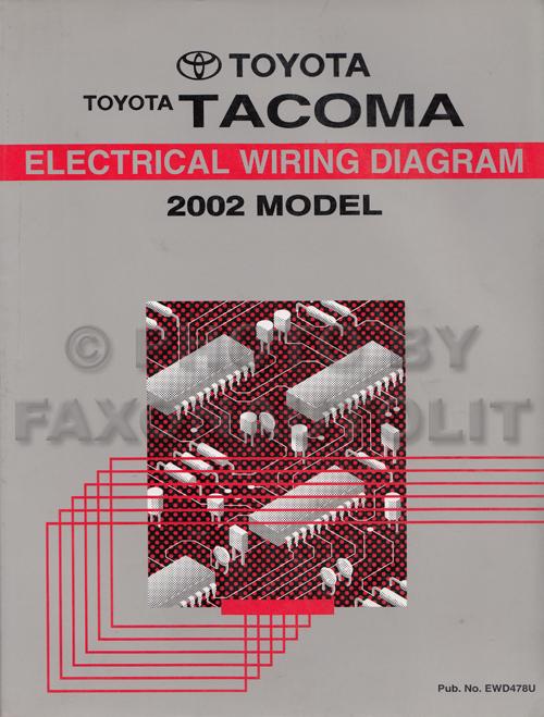 Am 1868 Wiring Diagram 2002 Toyota Prerunner Wiring Diagram