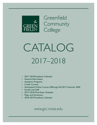 Astonishing 2017 18 Gcc Academic Catalog By Greenfield Community College Issuu Wiring Cloud Loplapiotaidewilluminateatxorg