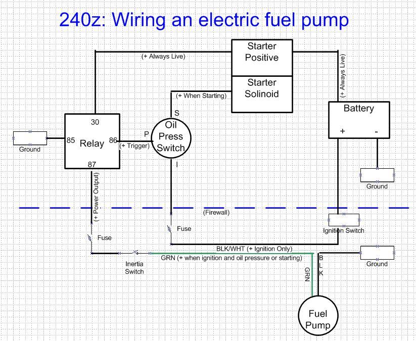 hl1044 wiring diagram electric fuel pump wiring diagram
