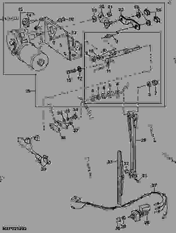Sy 2830 John Deere Wiper Motor Wiring Diagram Schematic Wiring