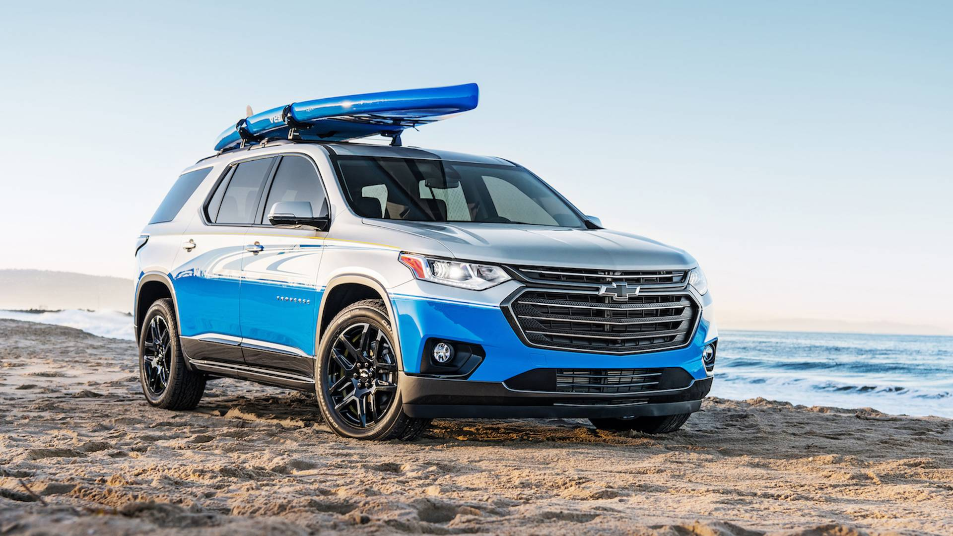 Superb Chevrolet Traverse Sup Concept Is A Paddle Boarders Dream Wiring Cloud Orsalboapumohammedshrineorg