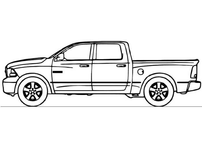 CF_7587] Chevy Silverado Coloring Pages Free Diagram