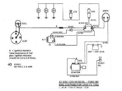 xv_5290] side mount distributor 8n ford tractor 8n ford tractor ... 6 volt ford tractor wiring diagram  sarc bocep mohammedshrine librar wiring 101