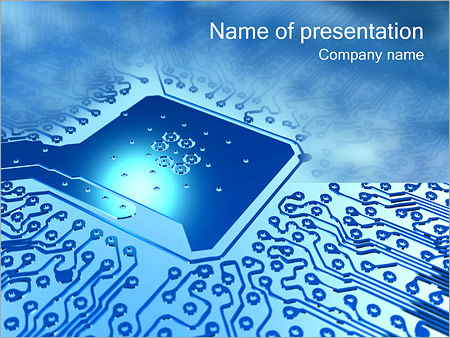 Wondrous Circuit Board Powerpoint Template Backgrounds Google Slides Id Wiring Cloud Cranvenetmohammedshrineorg