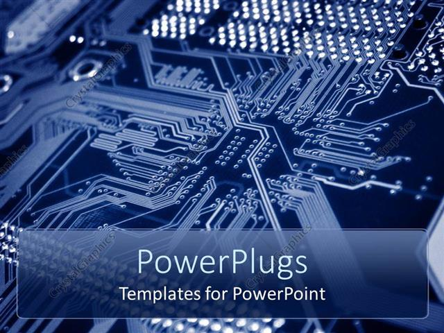 Prime Powerpoint Template Printed Circuit Board With Bus Lines And Wiring Cloud Cranvenetmohammedshrineorg