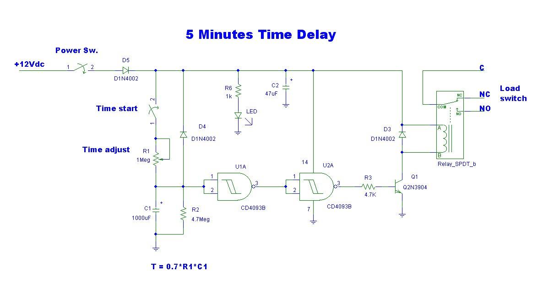 Pleasant Delay Circuit Page 6 Meter Counter Circuits Next Gr Wiring Cloud Rineaidewilluminateatxorg