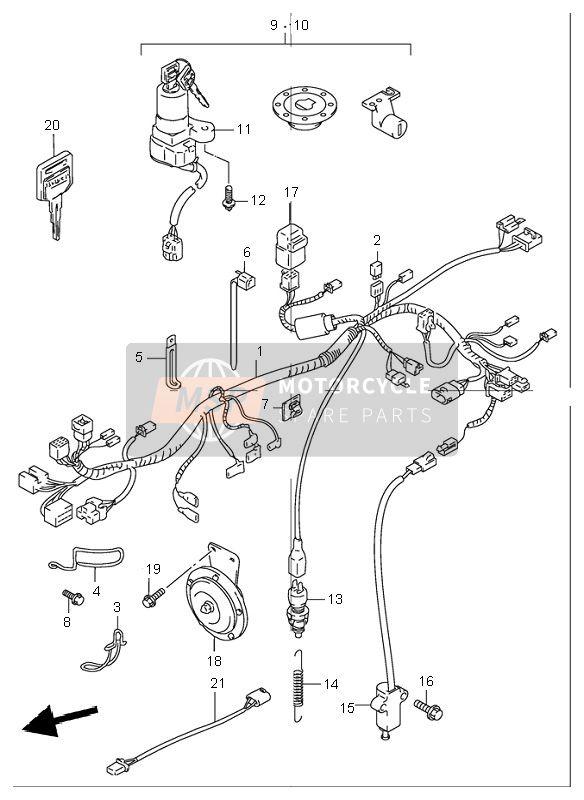 Suzuki Gs500 Electrical Schematic