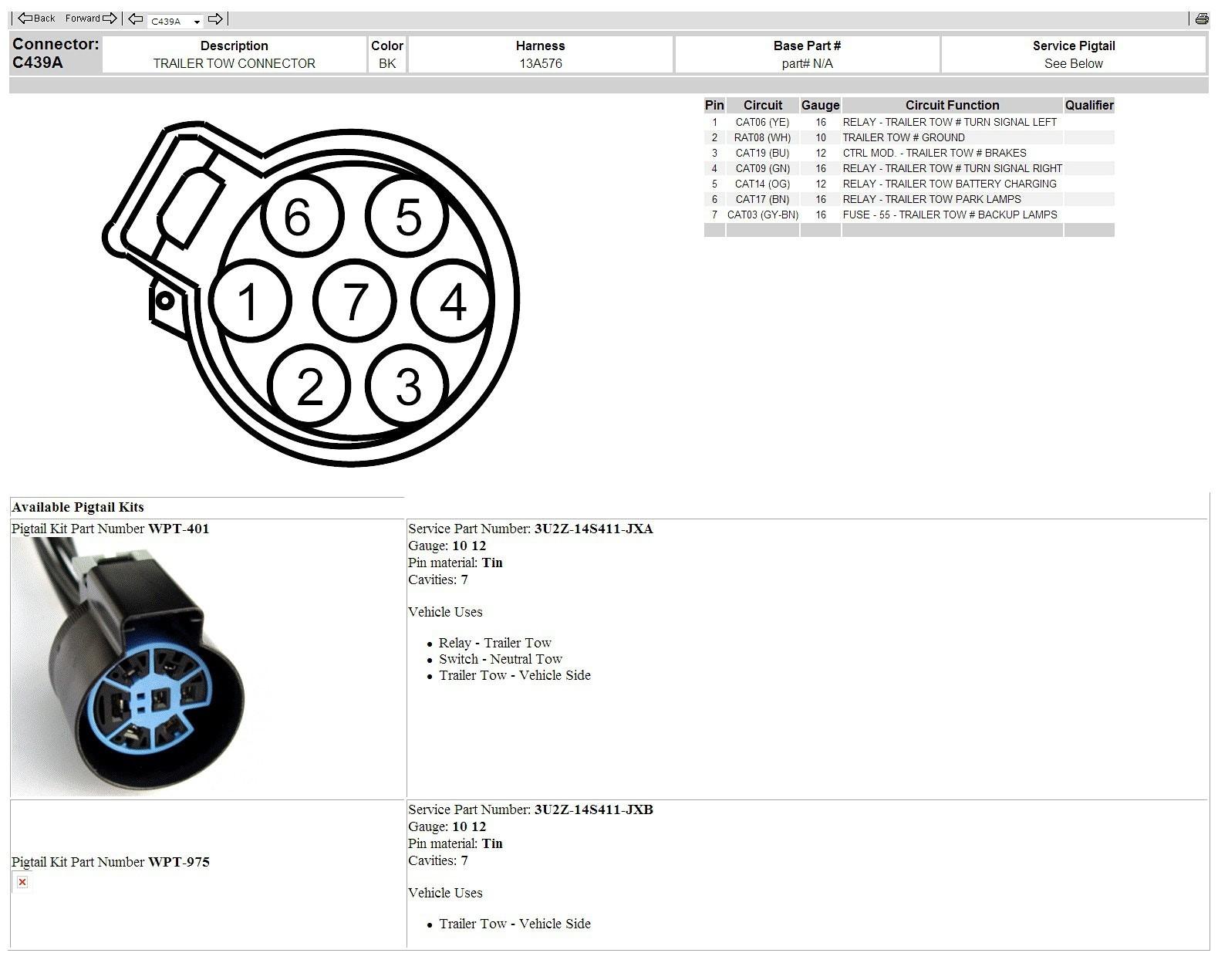 HL_2726] Trailer Plug Wiring Diagram Ford F 150 Trailer Wiring Harness  Trailer Wiring Diagram | Ford F150 Trailer Plug Wiring Diagram |  | Antus Dome Mohammedshrine Librar Wiring 101
