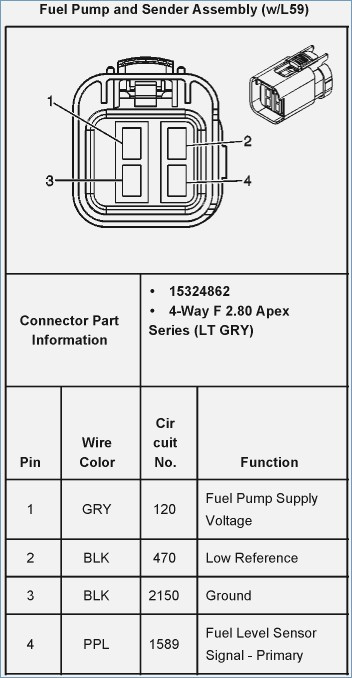 1998 Chevy Cavalier Fuel Pump Wiring Diagram - Wiring Diagram