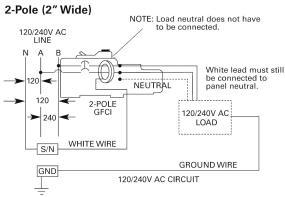 Remarkable Siemens Qf120 20 Amp 1 Pole 120 Volt Ground Fault Circuit Wiring Cloud Loplapiotaidewilluminateatxorg