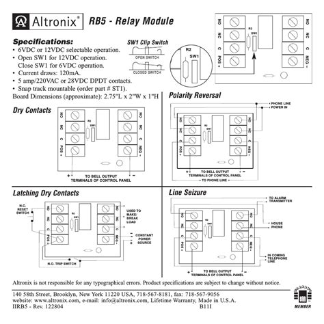 altronix relays wiring diagrams ho 0696  dpdt 12vdc 30a general purpose power relay circuit  30a general purpose power relay circuit