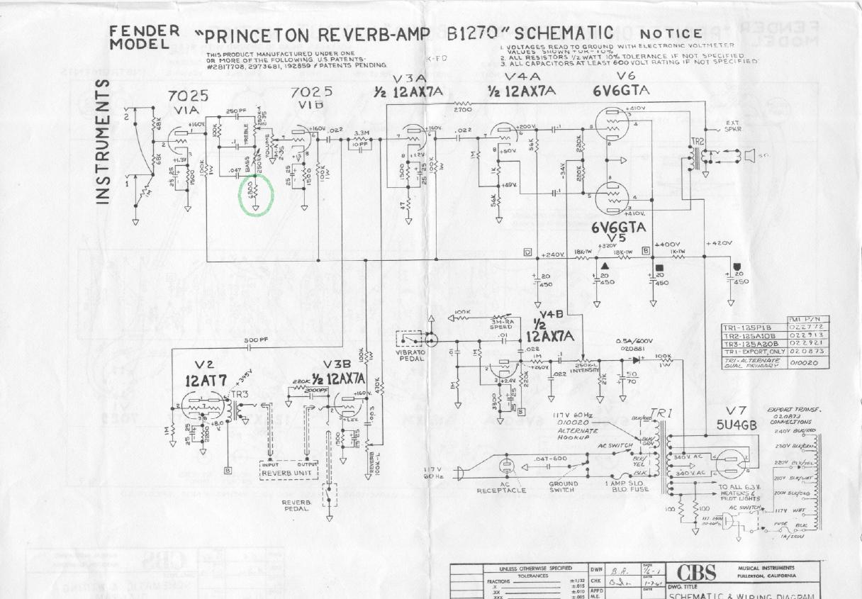 Admirable Bf Sf Princeton Reverb Fenderguru Com Wiring Cloud Lukepaidewilluminateatxorg