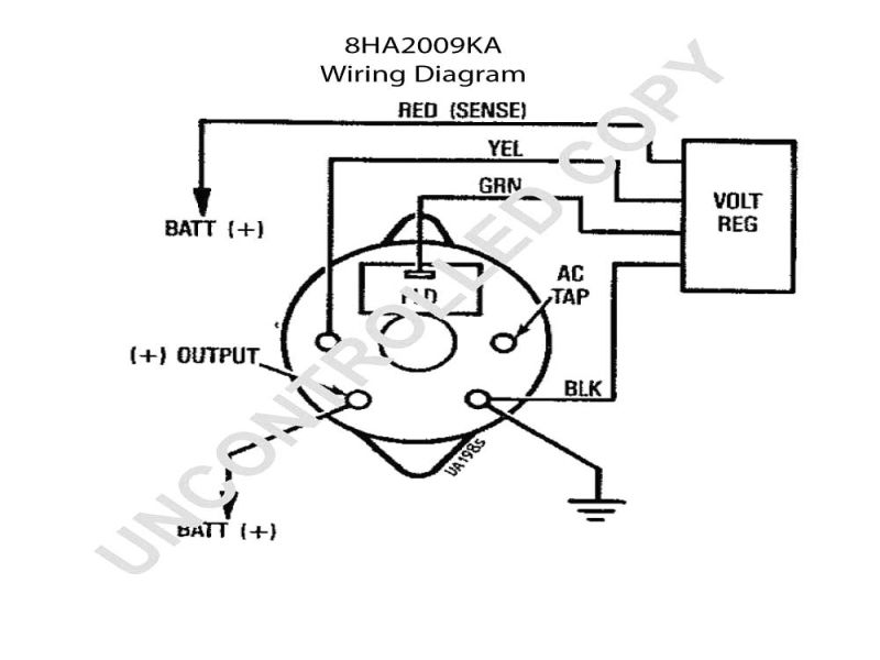 Bosch Universal Alternator Wiring Diagram