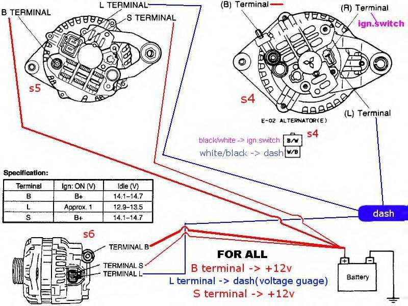 Bosch 24v Alternator Wiring Diagram