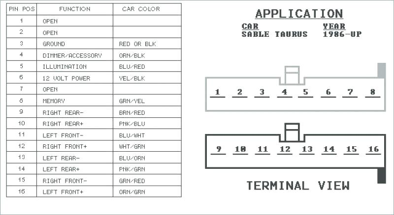 Wiring Diagram Ford 98 Contour